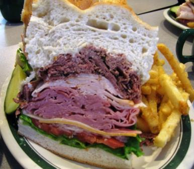The Dagwood Sandwich
