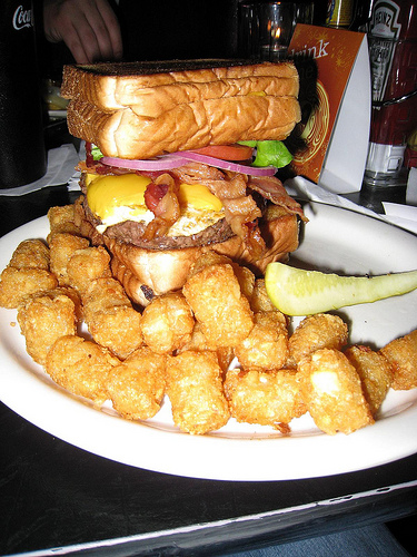Double Bypass Burger